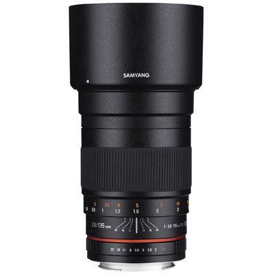 Samyang 135mm f2 ED UMC Lens - Sony Fit