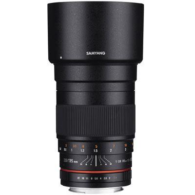 Samyang 135mm f2 ED UMC Lens - Sony FE Mount