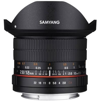 Samyang 12mm f2.8 ED AS NCS Fisheye Lens - Samsung NX Fit
