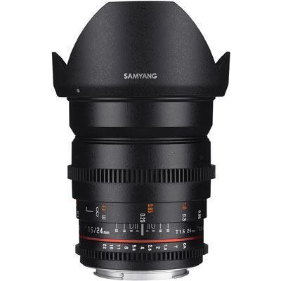 Samyang 24mm T1.5 ED AS IF UMC II Video Lens - Sony E Mount