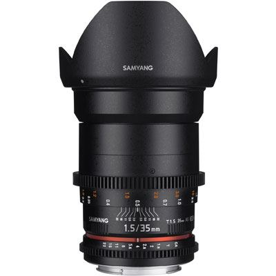 Samyang 35mm T1.5 AS UMC II VDSLR Lens - Canon Fit
