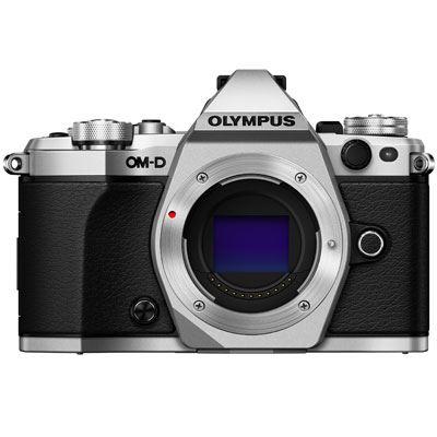 Used Olympus OMD EM5 Mark II Digital Camera Body  Silver