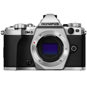 Olympus OM-D E-M5 Mark II Digital Camera Body - Silver