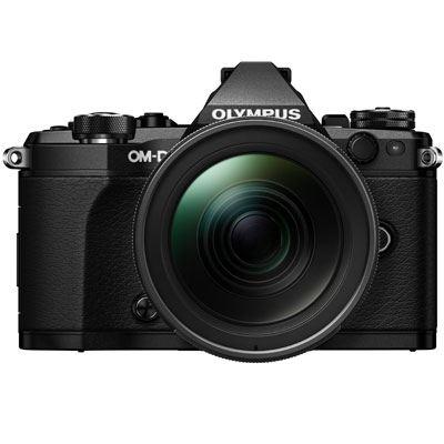 Olympus OMD EM5 Mark II Digital Camera with 1240mm PRO Lens  Black