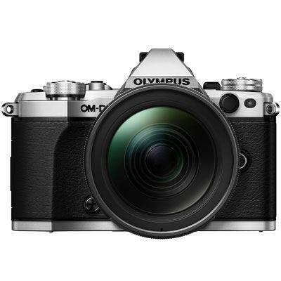 Olympus OMD EM5 Mark II Digital Camera with 1240mm PRO Lens  Silver