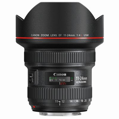 Canon EF 11-24mm f4L USM Lens upgrade offer