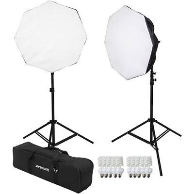 Westcott Basics D5 2-Light Daylight Octabox Kit