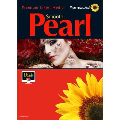 Image of Permajet Smooth Pearl A4 280gsm Photo Paper - Bulk pack of