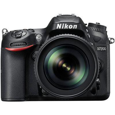 Nikon D7200 Digital SLR Camera with 18-105mm Lens
