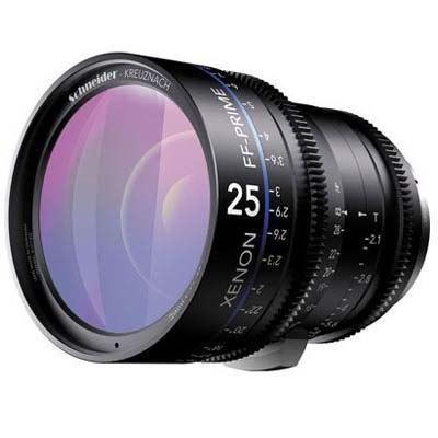 Schneider 25mm T2.1 Xenon Lens - Nikon Fit Metre Scale