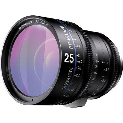 Schneider 25mm T2.1 Xenon Lens - Nikon Fit Feet Scale