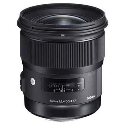 Sigma 24mm f1.4 DG HSM Art Lens - Canon Fit