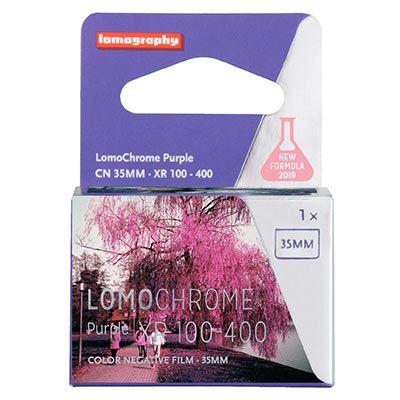 Lomography Lomochrome Purple XR 100-400 135 Film