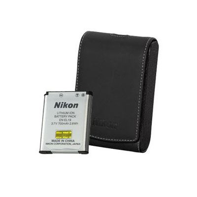 Nikon Coolpix S7000 Case and Battery Coolkit