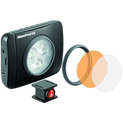 Image of Manfrotto Lumimuse 3 LED Light - Black