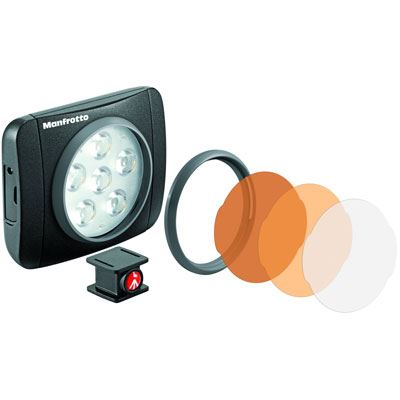 Image of Manfrotto Lumimuse 6 LED Light - Black