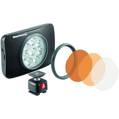 Image of Manfrotto Lumimuse 8 LED Light - Black