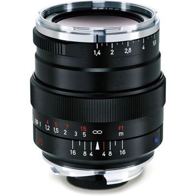 Zeiss 35mm f1.4 T* Distagon ZM Black Lens – Leica Fit