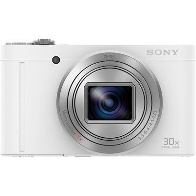 Sony Cyber-Shot WX500 Digital Camera – White