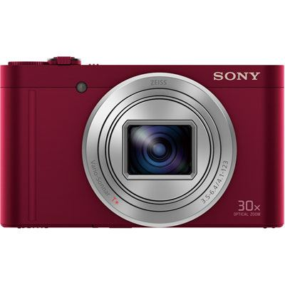 Sony CyberShot WX500 Digital Camera  Red