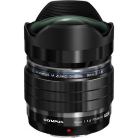 Olympus 8mm f1.8 PRO M.ZUIKO DIGITAL ED Fisheye Lens