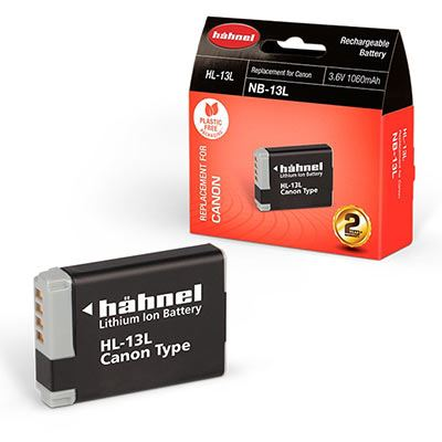 Hahnel HL-13L Battery (Canon NB-13L)