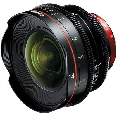 Image of Canon CN-E 14mm T3.1 L F Cine Lens