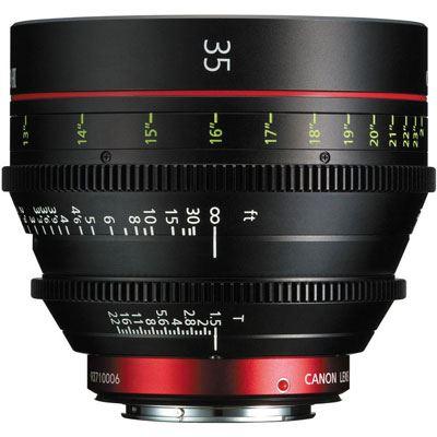 Image of Canon CN-E 35mm T1.5 L F Cine Lens