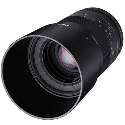 Image of Samyang 100mm f2.8 ED UMC Macro Lens - Micro Four Thirds
