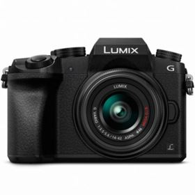 Panasonic LUMIX DMC-G7 Digital Camera with 14-42mm Lens