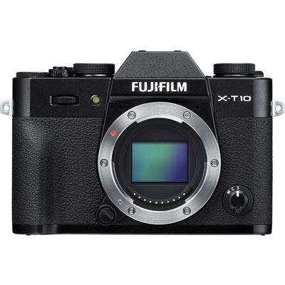 Fuji X-T10 Digital Camera Body - Black