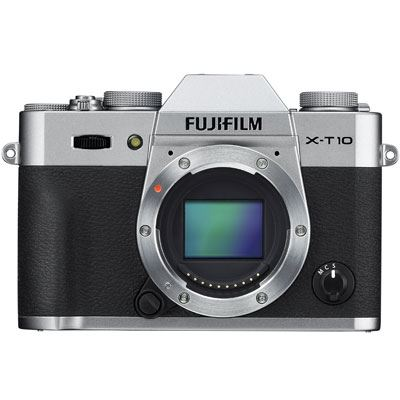 Fuji X-T10 Digital Camera Body - Silver