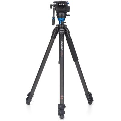 Image of Benro C2573F Video Tripod Kit with S4 Head
