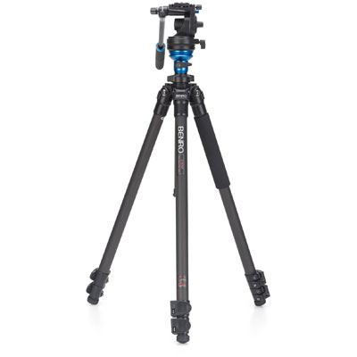 Image of Benro C1573F Video Tripod Kit with S2 Head