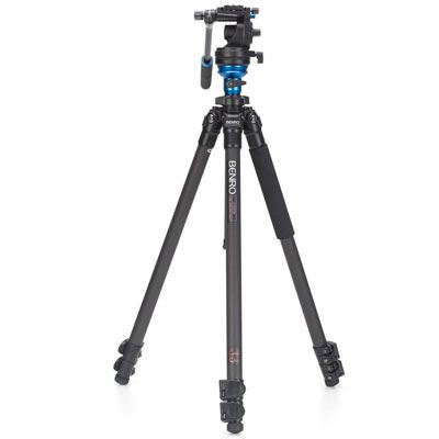 Image of Benro C2573F Video Tripod Kit with S6 Head