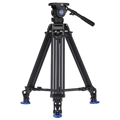 Benro AD673M Twin Leg Video Tripod Kit with BV8 Head