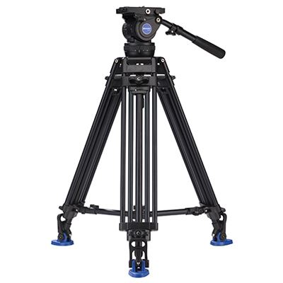 Benro AD674M Twin Leg Video Tripod Kit with BV10 Head
