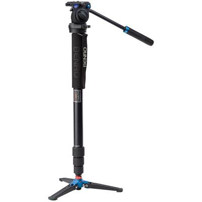 Benro A38TD Video Monopod Kit with S2 Head