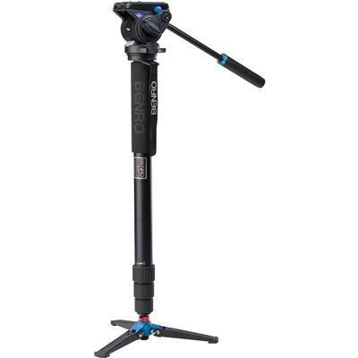 Image of Benro A48TD Video Monopod Kit with S4 Head