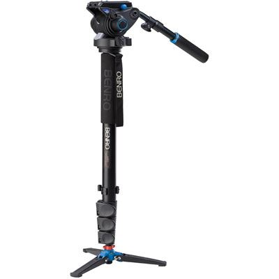 Benro A48FD Video Monopod Kit with S6 Head
