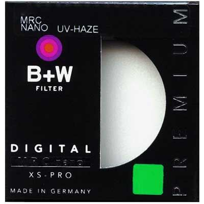 B+W 43mm MRC Nano XS-Pro Digital 010 UV-Haze Filter