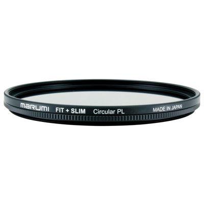 Marumi 62mm Fit + Slim Circular PL Filter