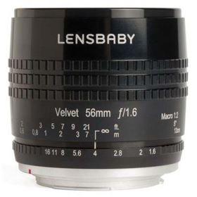 Lensbaby Velvet 56mm f1.6 Lens - Sony E - Black