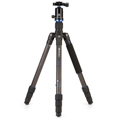 Used Benro Travel Angel FTA28CV1 Carbon Fibre Tripod Kit