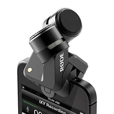 Image of Rode iXY Lightning Stereo Microphone for iPhone