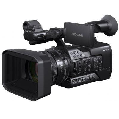 Sony PXWX160 XAVC XDCAM Handheld HD Camcorder with Lens