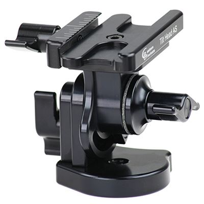 Image of Custom Brackets Pan and Tilt Head with Custom Brackets Quick Release