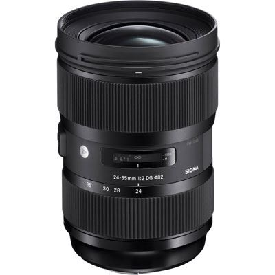 Sigma 24-35mm f2 DG HSM Art Lens - Canon