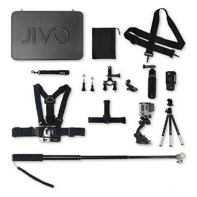 Jivo Go Gear Accessory Kit for GoPro