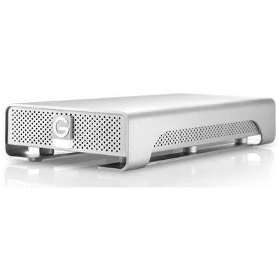 Used G-Technology G-Drive Gen6 External Hard Drive - 4TB